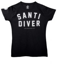 T-Shirt – Lady Santi Diver black