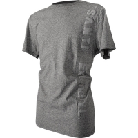 T-SHIRT LOGO - FLOCK gray