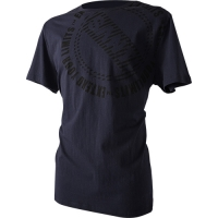 T-SHIRT LOGO - CIRCLE navy