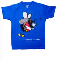 T-Shirt – Dive Fly Blue Kids