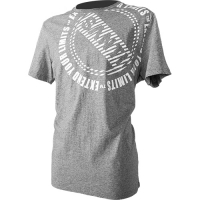 T-SHIRT LOGO - CIRCLE gray