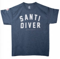 T-Shirt – Santi Diver tweed
