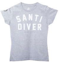 T-Shirt – Lady Santi Diver grey